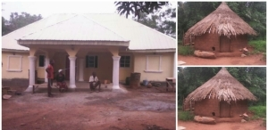 Man Builds House In Calabar For His Poor Neighbours Who Have...